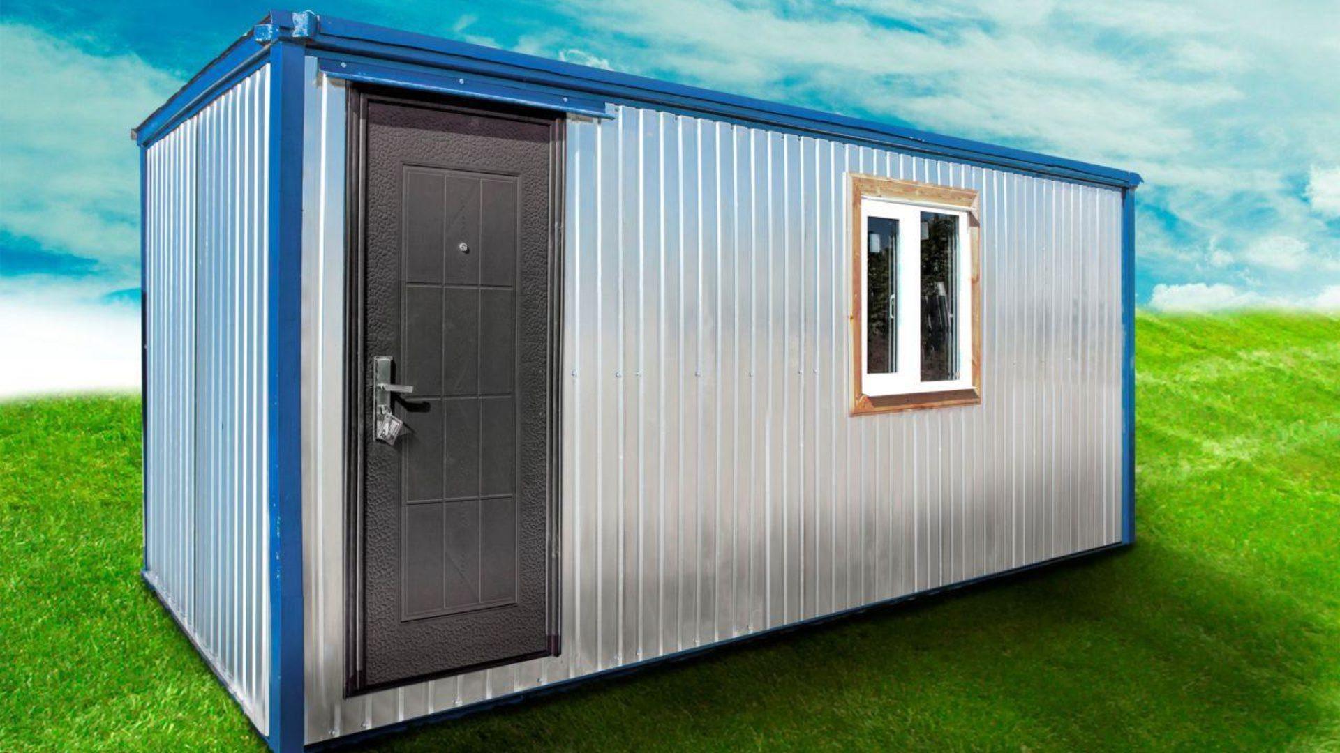 Строительные бытовки и блочные помещения
